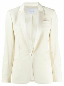 Dondup slim-fit blazer - White