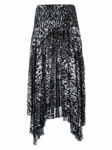 CAMILLA AND MARC dali print sunray skirt - Black