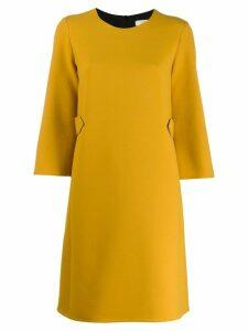 Dorothee Schumacher stitch detail dress - Yellow