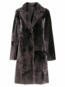 Arma reversible sheepskin coat - Grey