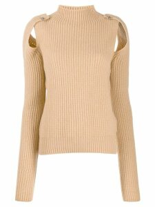 MRZ ribbed sweatshirt - Neutrals