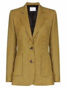Racil gingham check blazer - Yellow