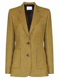 Racil gingham check blazer - Yellow