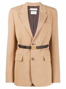 Bottega Veneta belted blazer - Neutrals