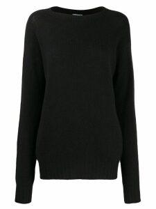 Prada classic cashmere jumper - Black