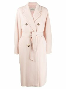 Max Mara double breasted coat - Pink