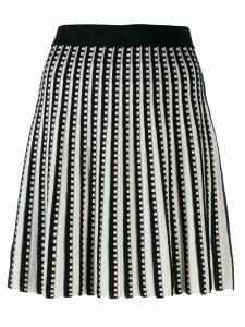 Michael Michael Kors pleated mini skirt - Black