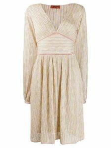Missoni fine knit dress - Neutrals