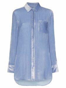 Sies Marjan Sander cord shirt - Blue
