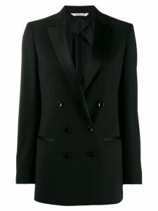 Tonello slim-fit double-breasted blazer - Black