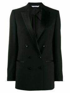 Tonello slim-fit double-breasted blazer - Black