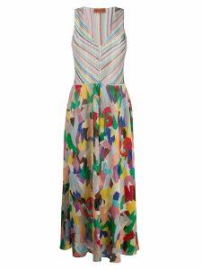Missoni Mare colour-block maxi dress - Green