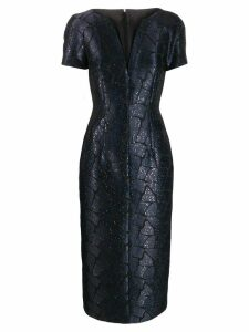 Talbot Runhof Roar dress - Blue