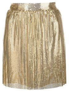 Fannie Schiavoni Kate skirt - Gold