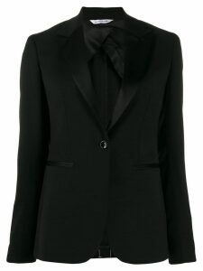 Tonello classic slim-fit blazer - Black