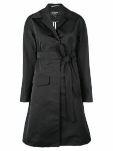 Rochas belted trench coat - Black