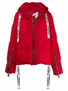 Khrisjoy oversized padded jacket - Red