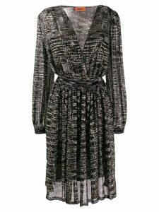 Missoni sequin embroidered dress - Black