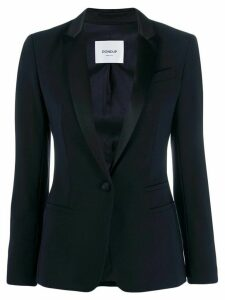 Dondup slim-fit contrast blazer - Blue