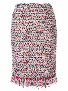 Coohem vimar tweed skirt - Red