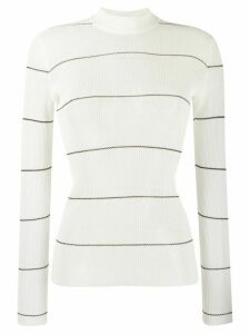 Missoni delicate stripe jumper - White