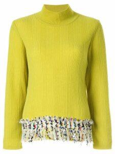 Coohem vimar tweed jumper - Yellow