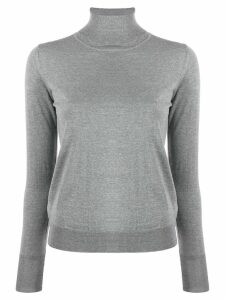 Nuur turtleneck slim-fit jumper - Grey