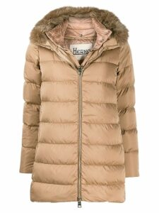 Herno padded hooded coat - Neutrals