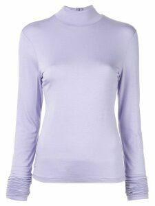 G.V.G.V. high-neck jumper - Purple