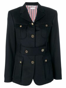 Thom Browne Navy Norfolk Sport Coat - Blue