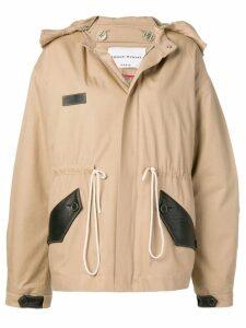 Sonia Rykiel concealed zip coat - Neutrals