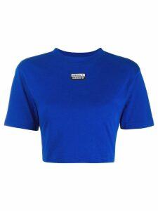Adidas Collegiate cropped T-shirt - Blue