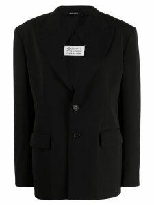 Maison Margiela oversized blazer - Black