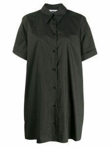 Mm6 Maison Margiela oversized shirt dress - Green