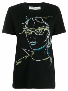 Off-White graphic print T-shirt - Black