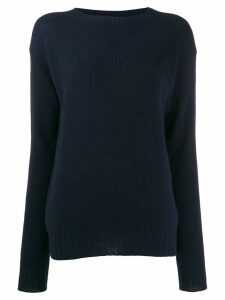 Prada knitted cashmere jumper - Blue