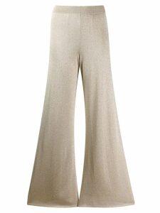 Missoni wide-leg flared trousers - Gold