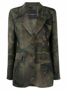 Ermanno Scervino camouflage blazer - Green