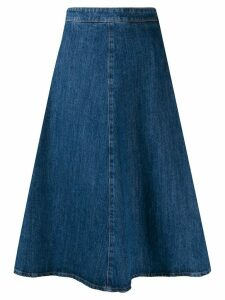 Miu Miu denim midi skirt - Blue