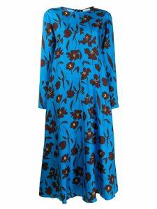 Alysi floral-print dress - Blue