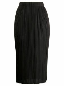 Pleats Please Issey Miyake pleated midi skirt - Grey