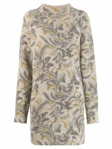 Antonio Marras printed jumper - Neutrals