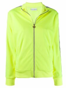 Chiara Ferragni embroidered eye print jacket - Yellow