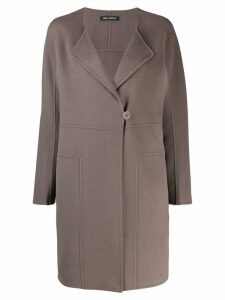 Iris Von Arnim oversized coat - Grey