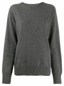 Maison Margiela oversized sweater - Grey