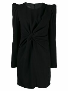 Pinko knotted dress - Black