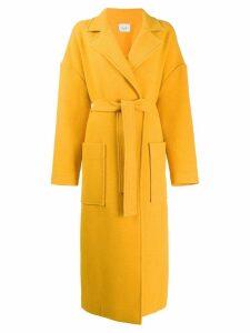 Alysi oversized coat - Yellow