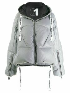Khrisjoy hooded puffer jacket - Silver