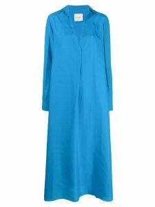 Alysi tunic shirt dress - Blue