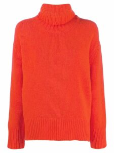 Woolrich turtleneck jumper - Orange